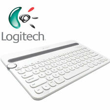 Logitech K480 Bluetooth Multi-Device Keyboard / Tastatur - drahtlos - Weiss - DE