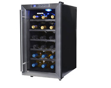 18 Bottle Wine Cooler Newair, Thermoelectric Digital Metal Led Lighting