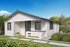 70 mm Ferienhaus ISO 595x800 cm Gartenhaus Blockhütte Blockhaus Holzhaus Hütte