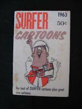 Vintage Surfer Cartoons 1963 Surf Magazine Griffin Murphy Severson