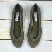 Unisa Suede Leather Flats Womens Shoes Made in Brazil 6.5 B, Runs Small 6