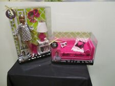 Barbie Loves Jonathan Adler Doll & Sofa Set New!  N6579 & R4158