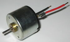12 V DC Electric Low Current Motor with Capacitor - 3000 RPM - 10 mA No Load I