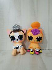 LOT 2 NO BOX BARE PET LOL Surprise Doll Pets Neon Puppy /& NEON BUNNY