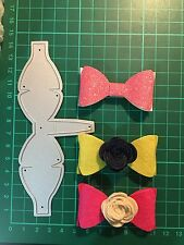 D004 Bride Butterfly Bow Cutting Die Suit For Sizzix Spellbinders Xcut Machine