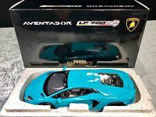 1:18 Lamborghini Aventador LP700-4 (Turquoise / Blue) AUTOart RARE BNIB COA