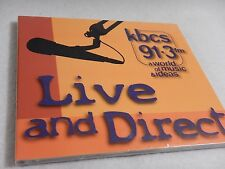 Live & Direct 91.3fm kbcs - A World Of Music & Ideas CD NEW Sealed
