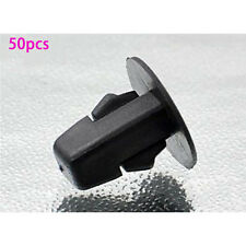 50pcs car Black interior panel side skirt rivet liner fastener Trim Clips