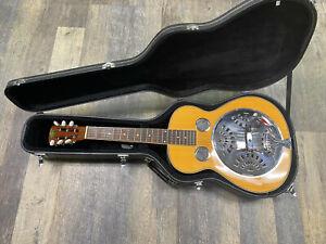 Regal RD-40 Square neck Resonator Dobro Guitar w/ Hard Case