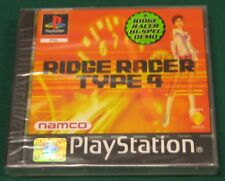 Videogame RIDGE RACER TYPE 4 Playstation 1 PS1 PSX PSONE NEW&SEALED SIGILLATO