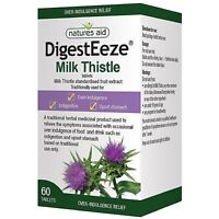 Natures Aid DigestEeze® 150mg (Milk Thistle) - 60 Tablets
