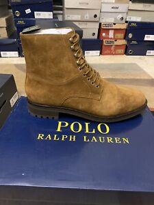 Polo Ralph Lauren Bryson Snuff Suede Boots Men's Size 12