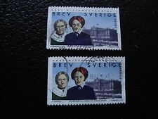SUEDE - timbre yvert et tellier n° 2060 x2 obl (A29) stamp sweden (A)