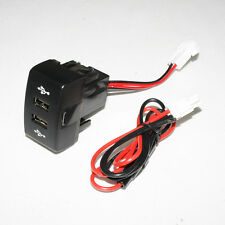 12 24v Dashboard Usb Port Charger Dach Dual Outlet Fits Iveco Stralis Eurocargo