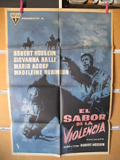 A5283 EL SABOR DE LA VIOLENCIA GIOVANNA RALLI ROBERT HOSSEIN