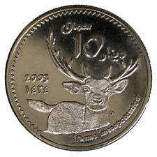 KURDISTAN 10 DINAR 2003 (CERVO/DEER) #6604A