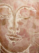 Original Ölgemälde Rahmen Buddha Gemälde Budda Bild oil painting art 84x84cm