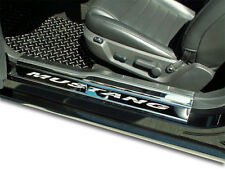 Door Sills Polished Brushed 4PC 2005-2009 Ford Mustang ACC 271004