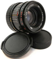 ⭐SERVICED⭐ MC HELIOS 44-3 58mm f/2 USSR Lens M42 + Adapt. Fuji X-Mount FX Camera