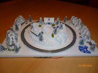"Modelleisenbahn "" Winterlandschaft "" Spur Z"