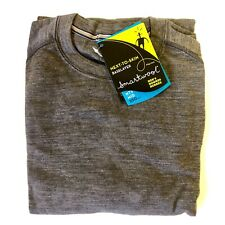 NEW - Large - Smartwool Men's Mid 250 Base Layer Crew Top Merino Wool - Taupe