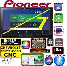 Chevy-Gmc Gps Navigation Bluetooth Usb Carplay Android Auto Car Radio Stereo