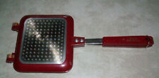 Red Copper Flipwich Grilled Sandwich Paninia Maker Pre-Owned
