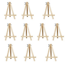 10pcs 15*10CM Artist Wood Tripod Easel Suitable for Table Top Drawing Sketching
