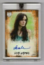 2018 TOPPS Walking Dead Autograph Collection Sarah Wayne Callies Auto Card 33/50
