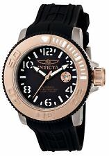 New Invicta 1080 Sea Hunter Swiss Made SW200 Automatic Black Rubber Watch