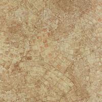 "ANCIENT beige MOSAIC self STICK adhesive VINYL floor TILES - 40 pcs 12"" x 12"""