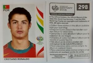 FIFA WC Germany 2006 #298 Cristiano Ronaldo MINT, Panini