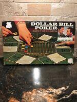 Brand New Vintage 1974 Dollar Bill Poker Game, Milton Bradley Lowe - Odd Couple