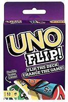 Mattel Uno Flip Card Game Classic Party Game for 2-10 Players
