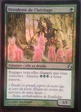 Druidesse de l'Héritage PREMIUM / FOIL VF - French Heritage Druid - Magic mtg