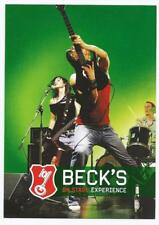 Ältere AK BECK´S ON STAGE EXPERIENCE; 2004, ungebraucht