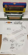 Athearn 10871 N-Scale Burlington Northern  53' Bulkhead Flat Car Rd# 616036