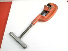 """RIDGID NO. 2A 1-2 HEAVY DUTY PIPE CUTTER TOOL 1/8"""" TO 2"""" Steel Copper Fitter"""