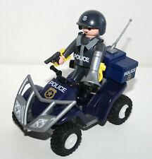 PLAYMOBIL 4168 QUAD POLICIER BUGGY CALENDRIER DE L'AVENT / NOEL POLICE