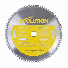 """Evolution Saw Blades For Stainless Steel - 12"""" Circular Saw Blades"""