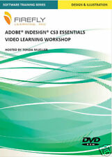 Adobe Indesign CS3 Video Training Tutorial DVD NEW