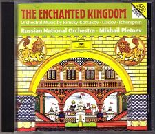 Mikhail PLETNEV: THE ENCHANTED KINGDOM Liadov Tcherepnin Rimsky-Korsakov DG CD