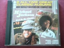 "MICHAEL JACKSON - 2 ALBUMS ON 1 CD ""GOT TO BE THERE"" +"" BEN"""