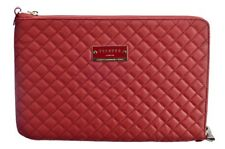 Pipetto Macbook Pro 15.4 Luxury Genuine Handmade Leather Sleeve Case - Royal Red