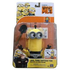 Minions Despicable Me 3 Toy Toys Figure Jail Time Tattoo Tim Gift Collectible UK