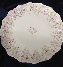 """A GIRAUD & BROUSSEAU LIMOGES FRANCE GIR16 DINNER PLATES 10 1/4"""" CORAIL TINY CHIP"""