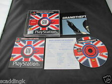 Sony Playstation 1 PS1 Game Grand Theft Auto London Mission Pack Add On Complete