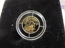 "2007/2008 Biblical Art ""Wolf With the Lamb"" PR Coin 1 NIS 13.9mm 1.24g Gold/999"