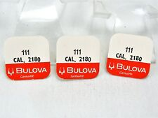 NOS Bulova ACCUTRON Parts for Model 218 MINUTE WHEEL #111 Lot of 3 - Sealed!