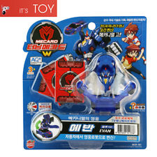 Turning Mecard W EVAN Blue Ver. Transformer Robot Car Toy Mecarnimal Sonokong